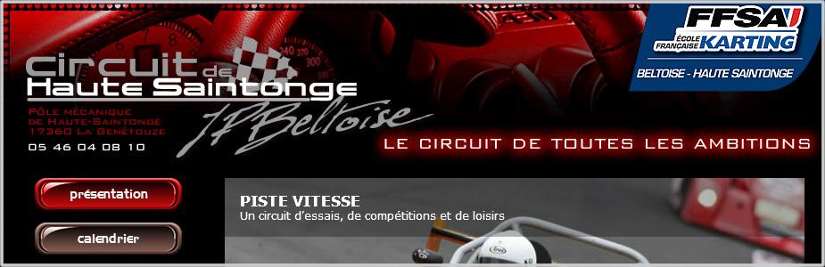 Site internet du circuit de Haute Saintonge