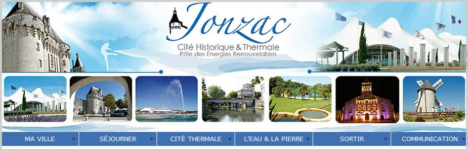 Site internet de la Ville de Jonzac