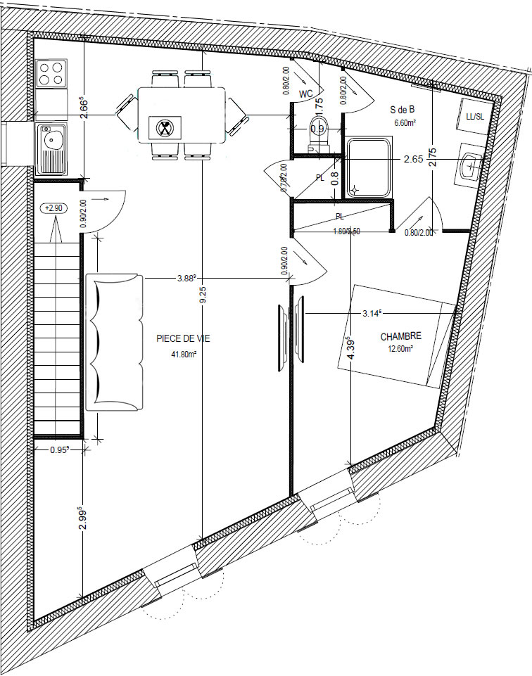 Appartement meublé curiste Jonzac On Loge A Pied